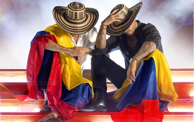 """Silvestre Dangond y Maluma estrenan el video de su primer tema juntos """"Vivir Bailando"""""""