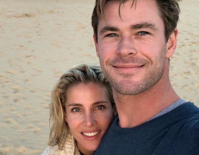 Así logra Elsa Pataky avergonzar a su marido Chris Hemsworth