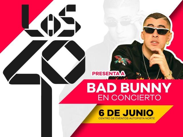 LOS40: emisora oficial del 'X100PRE WORLD TOUR' en Bogotá