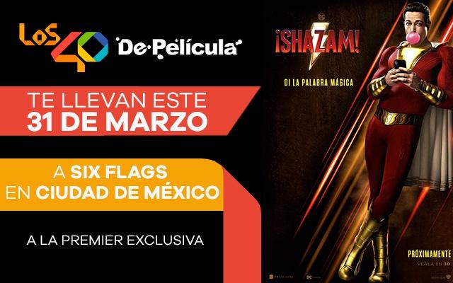 Andrés Ramírez viajará con LOS40 De Película y Shazam a México