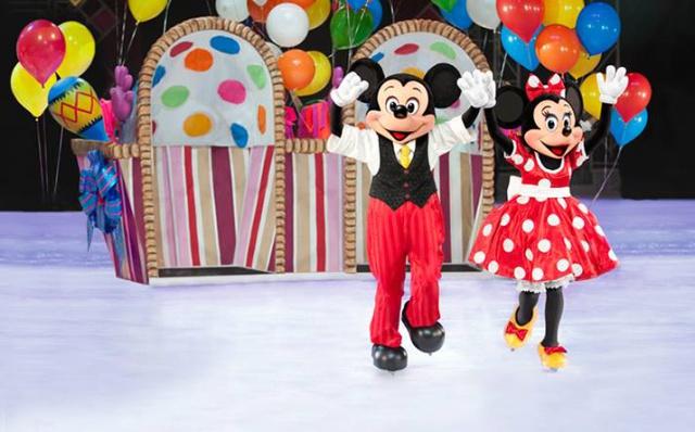 Disney On Ice celebra 100 años de magia en Colombia