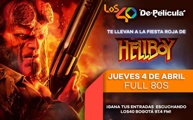 LOS40 De Película presenta: la fiesta roja