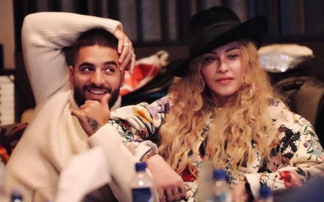 """Madonna estrena su canción """"Medellín"""" junto a Maluma"""
