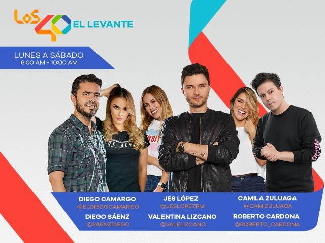 """Hoy en """"El Levante de LOS40"""""""