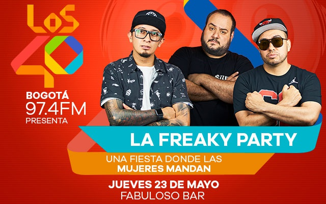 LOS40 97.4 presenta 'La Freaky Party'