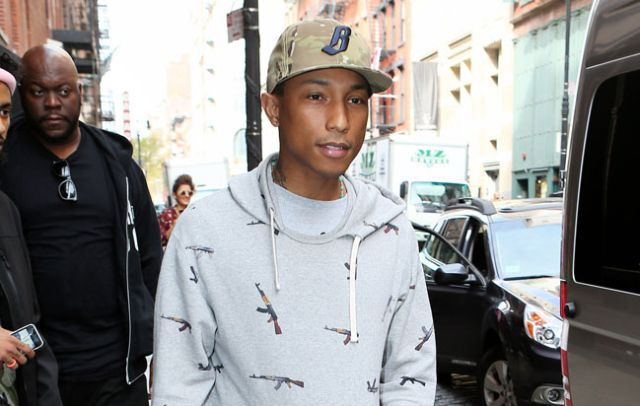 Pharrell Williams estaría encantado de trabajar con One Direction