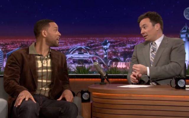 Mira el 'beatbox' que hizo Will Smith con Jimmy Fallon