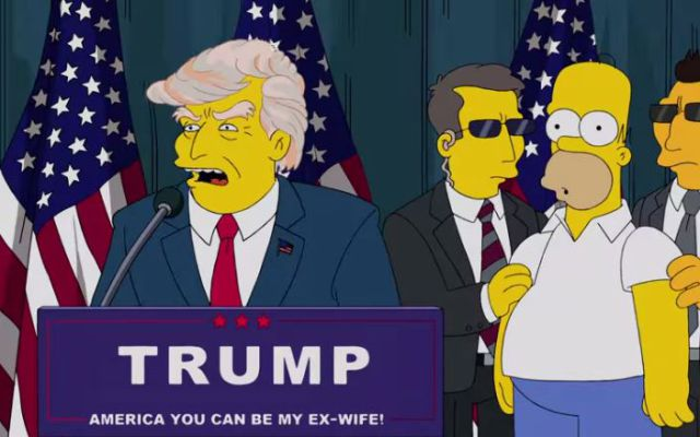 La parodia de 'Los Simpsons' a Donald Trump
