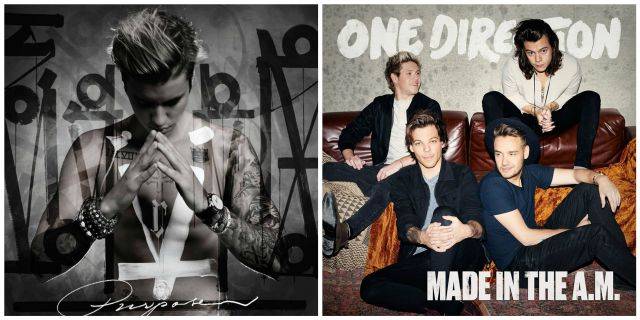 Match 40: ¿Purpose de Justin Bieber o Made in the A.M de One Direction?