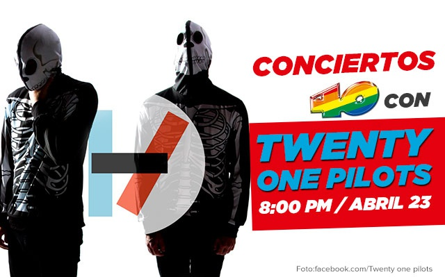 Conciertos 40 con Twenty One Pilots