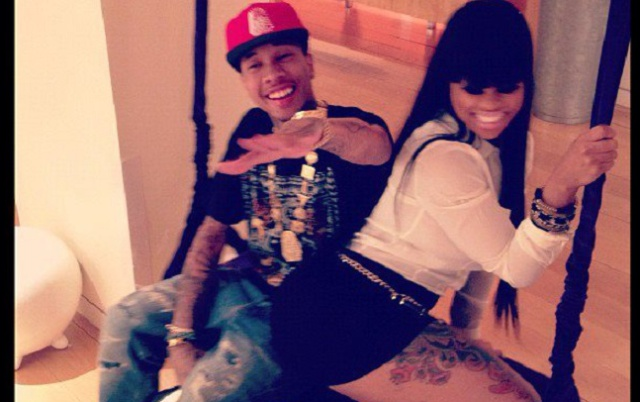 Filtran video sexual de Tyga y Blac Chyna