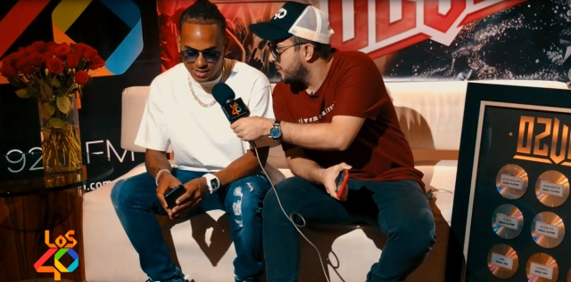 Ozuna en exclusiva con LOS40