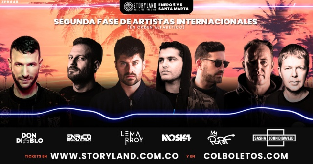 Storyland anuncia un Line Up imperdible