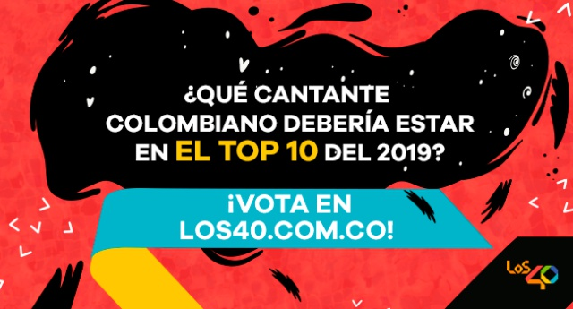 Top 10 de cantantes colombianos