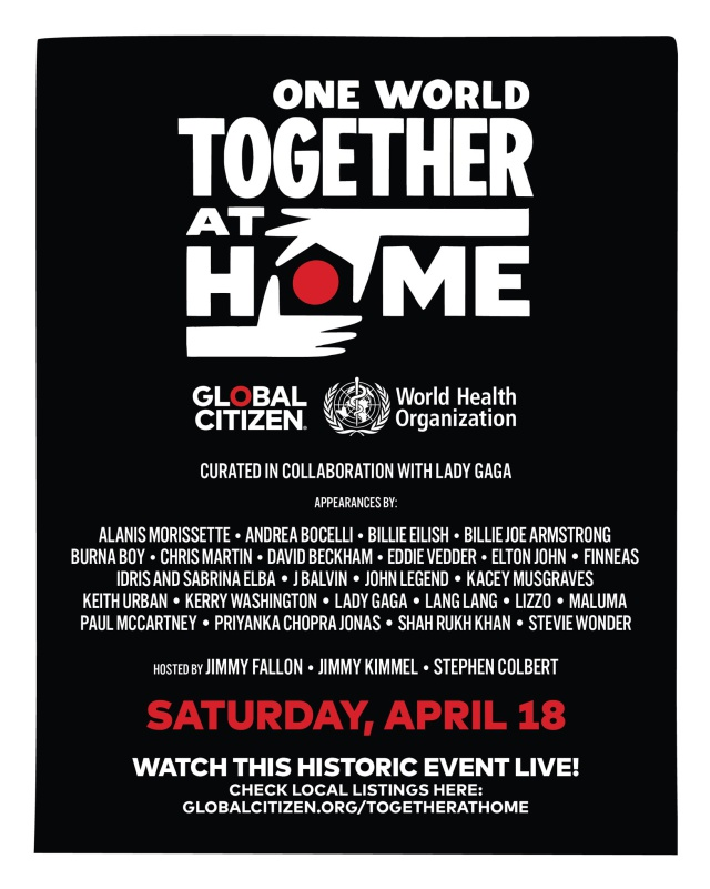 One World: Together At Home, el concierto virtual de Lady Gaga