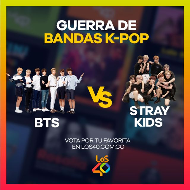 ¿BTS o Stray Kids? ¡Vota por tu favorito!