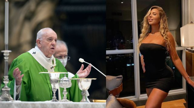Papa Francisco le habría dado 'Me gusta' a foto erótica de una modelo brasileña